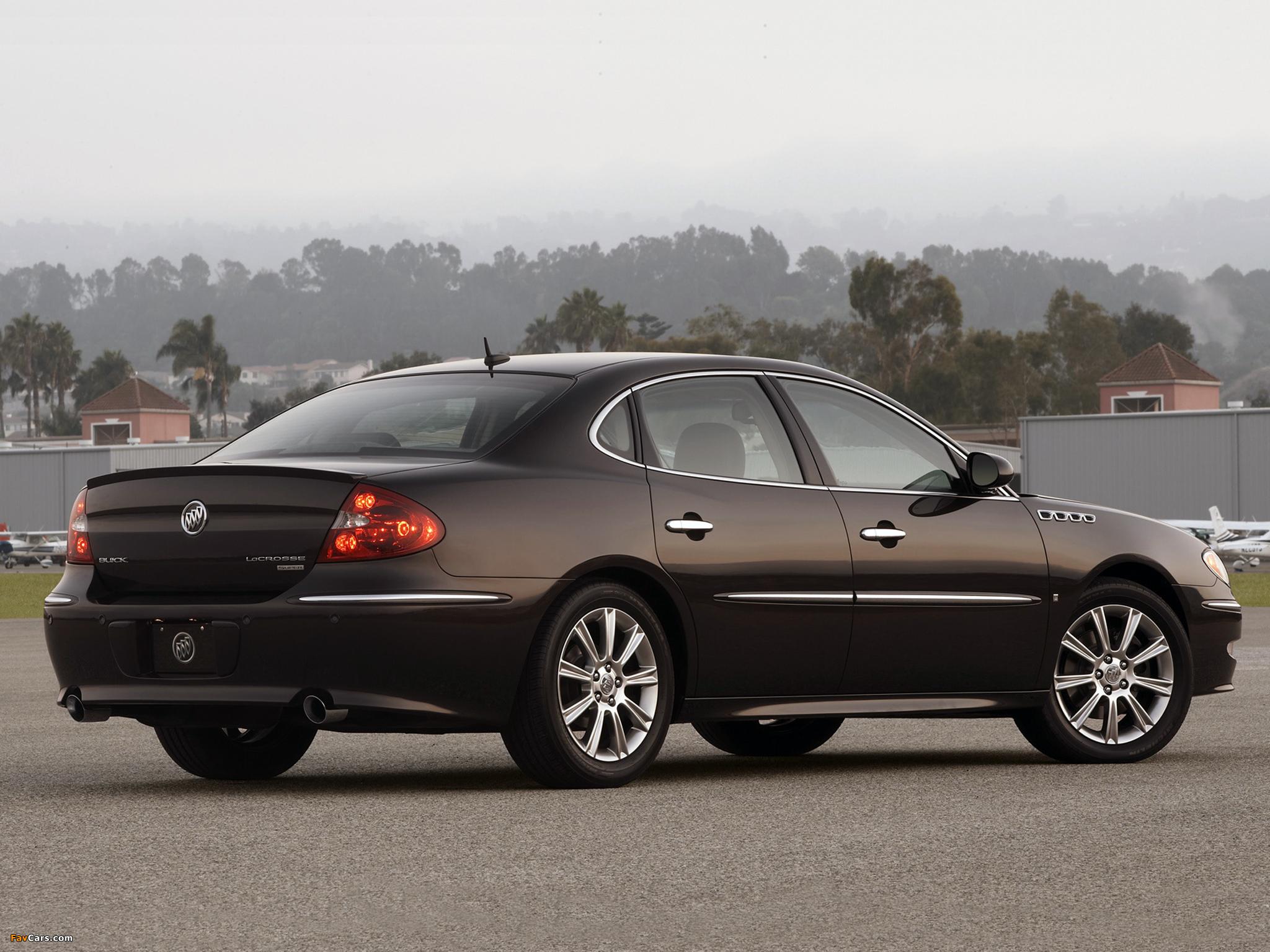 Buick LaCrosse Super 2008–09 images (2048 x 1536)