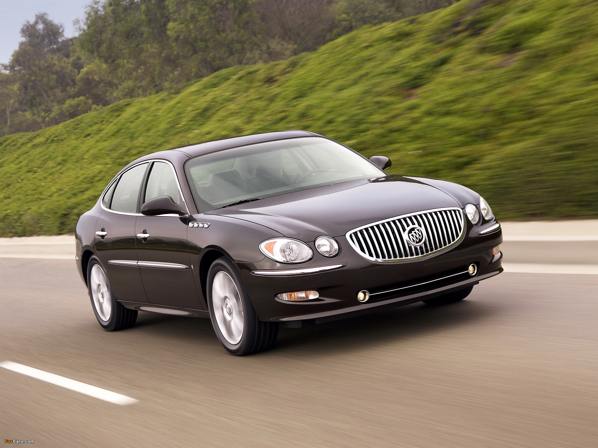 Buick LaCrosse Super 2008–09 wallpapers (2048 x 1536)
