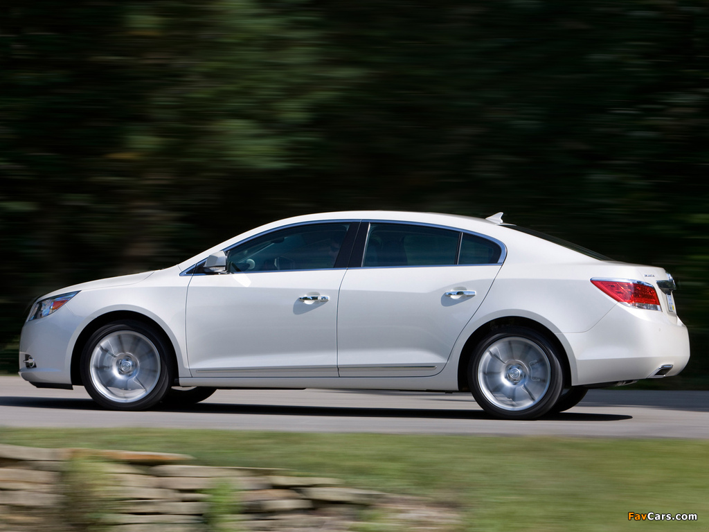 Buick LaCrosse 2009 pictures (1024 x 768)