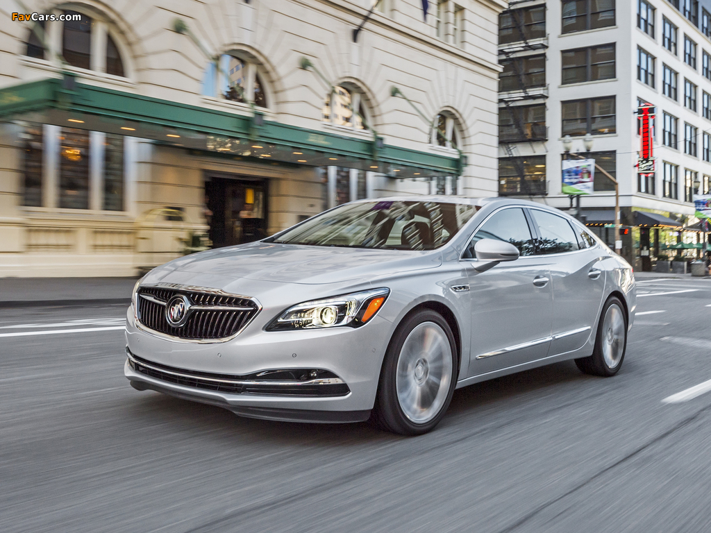 Buick LaCrosse 2016 pictures (1024 x 768)