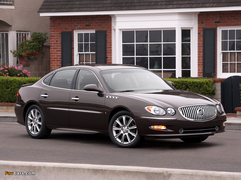 Images of Buick LaCrosse Super 2008–09 (800 x 600)