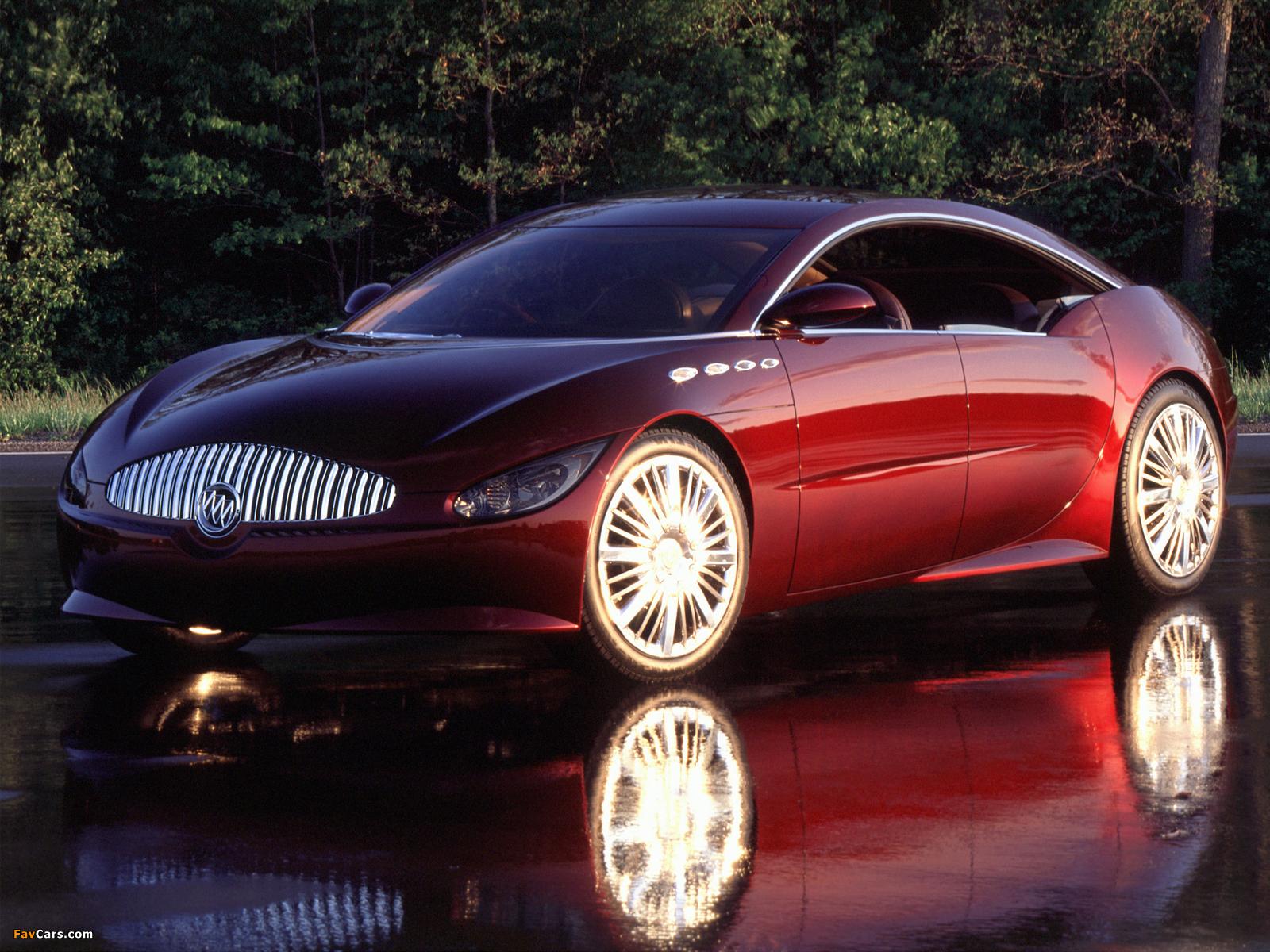 Photos of Buick LaCrosse Concept 2000 (1600 x 1200)