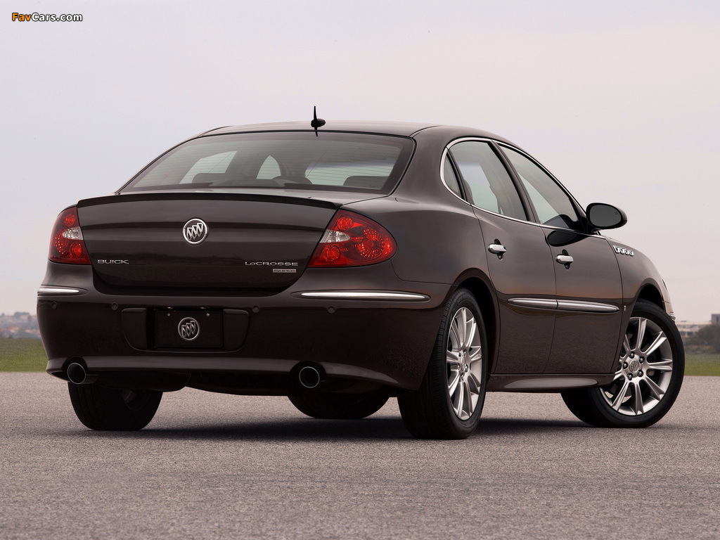 Pictures of Buick LaCrosse Super 2008–09 (1024 x 768)