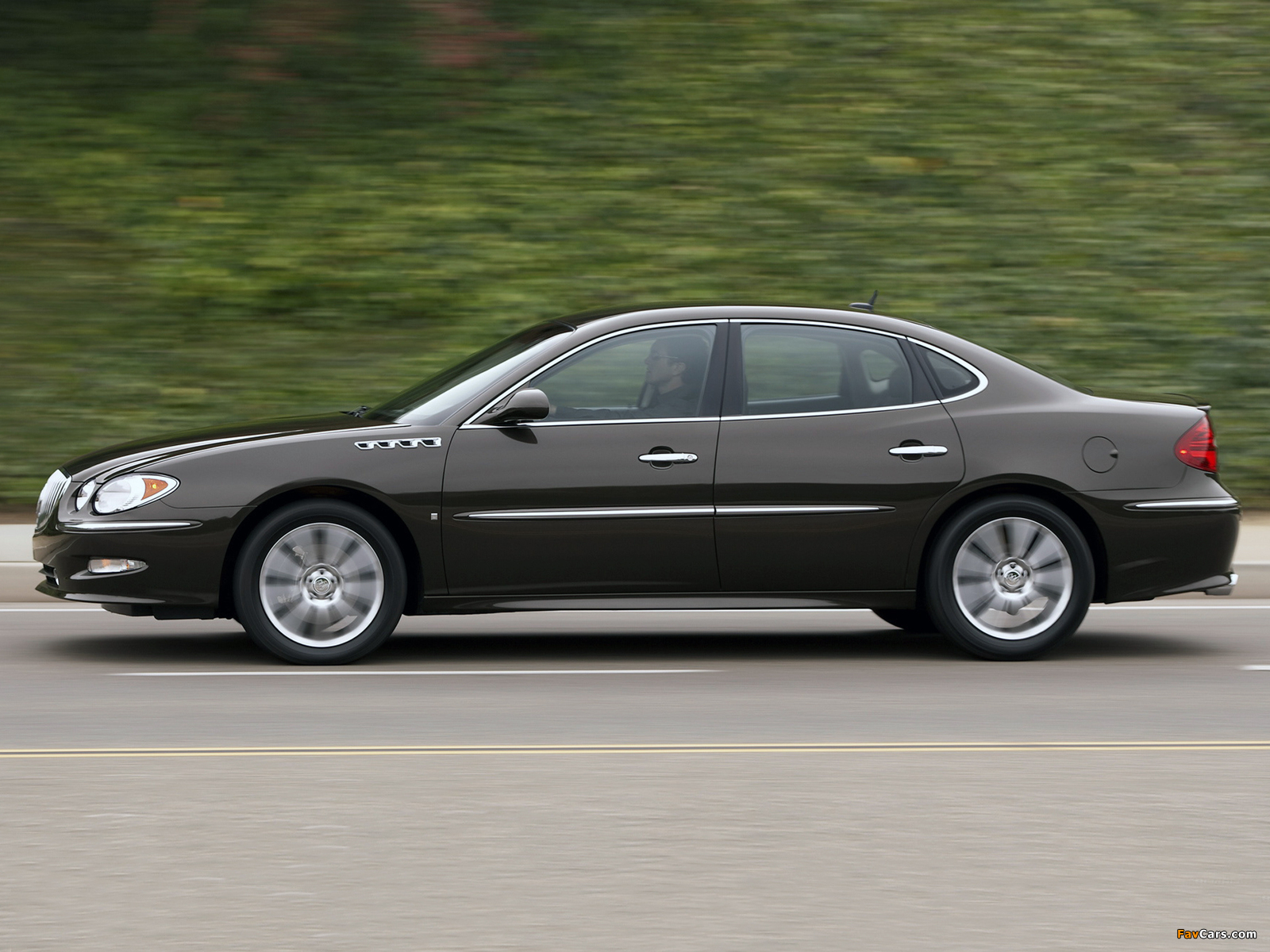 Pictures of Buick LaCrosse Super 2008–09 (1600 x 1200)