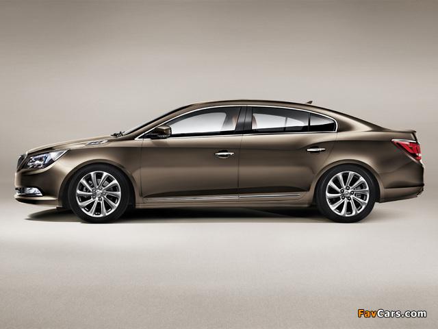 Pictures of Buick LaCrosse CN-spec 2013 (640 x 480)