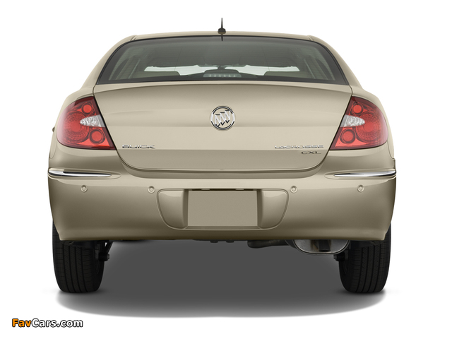 Buick LaCrosse 2007–09 wallpapers (640 x 480)