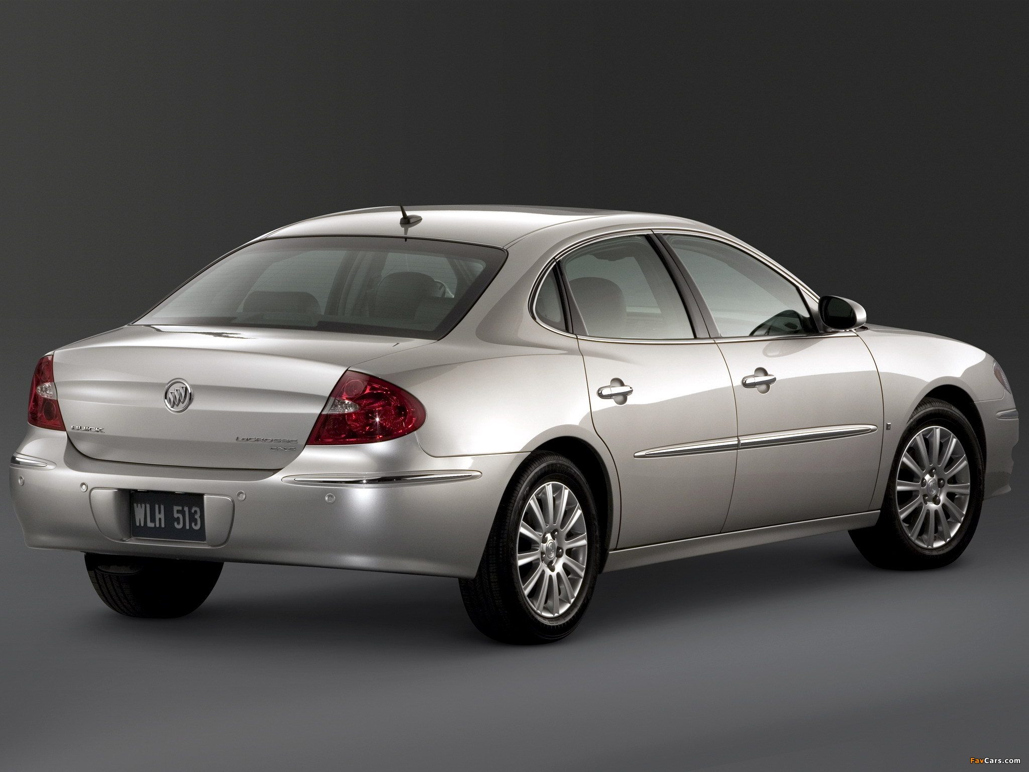 Buick LaCrosse 2007–09 wallpapers (2048 x 1536)