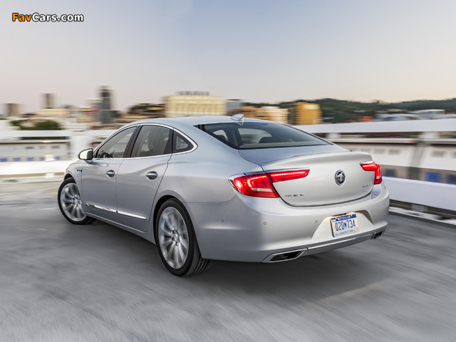 Buick LaCrosse 2016 wallpapers (640 x 480)