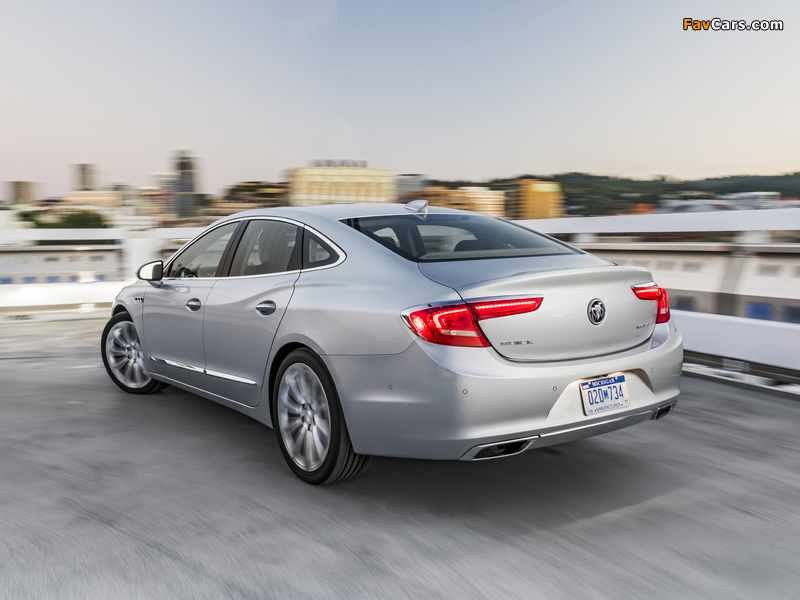Buick LaCrosse 2016 wallpapers (800 x 600)
