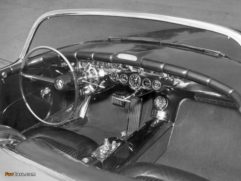 GM LeSabre Concept Car 1951 wallpapers (800 x 600)