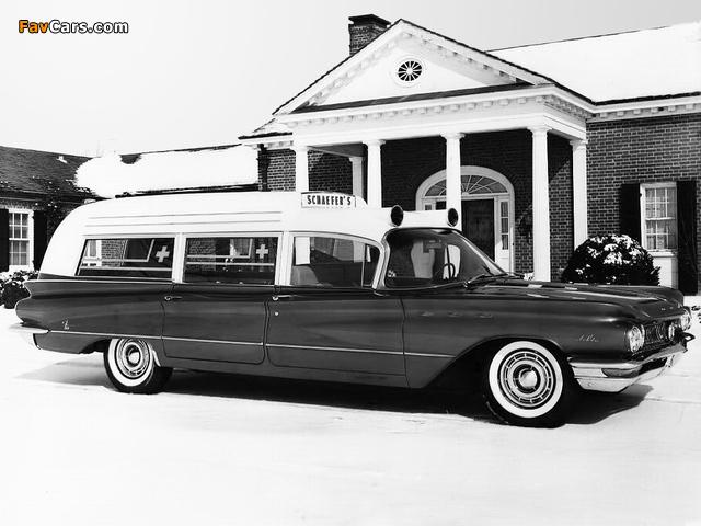 Buick LeSabre Ambulance by Cotner-Bevington 1960 pictures (640 x 480)