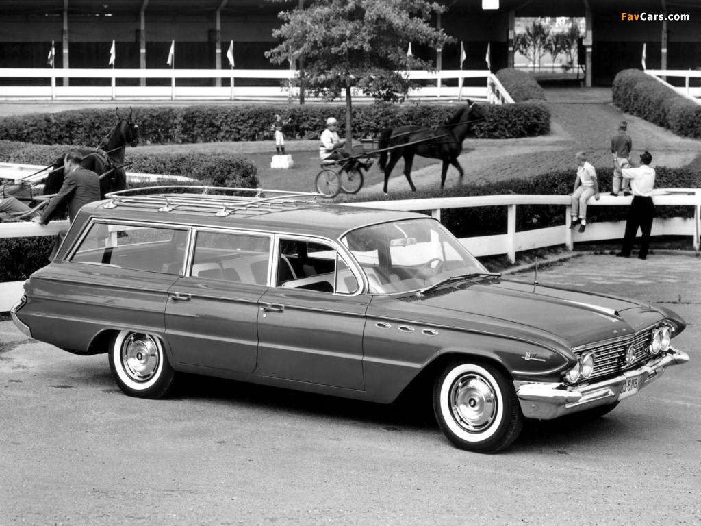 Buick LeSabre Estate Wagon 1961 images (1024 x 768)