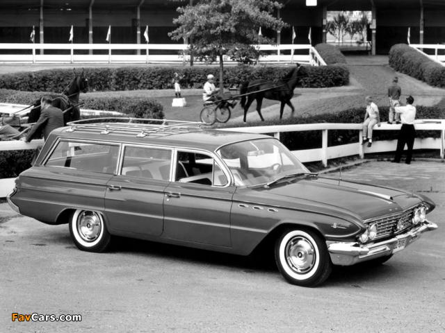 Buick LeSabre Estate Wagon 1961 images (640 x 480)