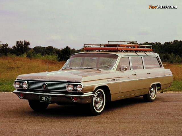 Buick LeSabre Estate Wagon 1963 images (640 x 480)