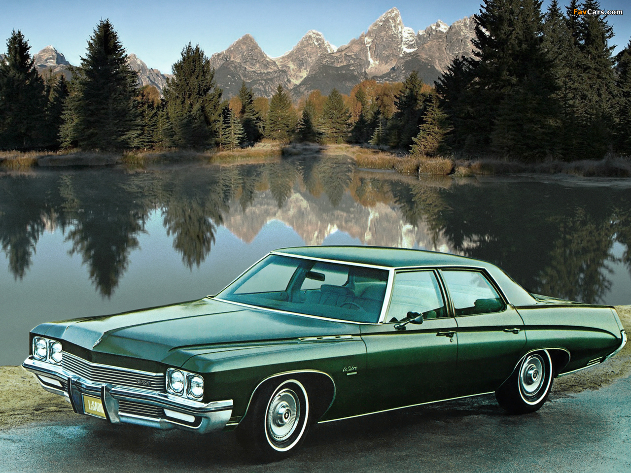 Buick LeSabre Custom Sedan (45469) 1972 images (1280 x 960)