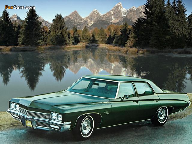 Buick LeSabre Custom Sedan (45469) 1972 images (640 x 480)