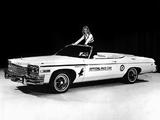 Buick LeSabre Convertible Indy 500 Pace Car 1975 images