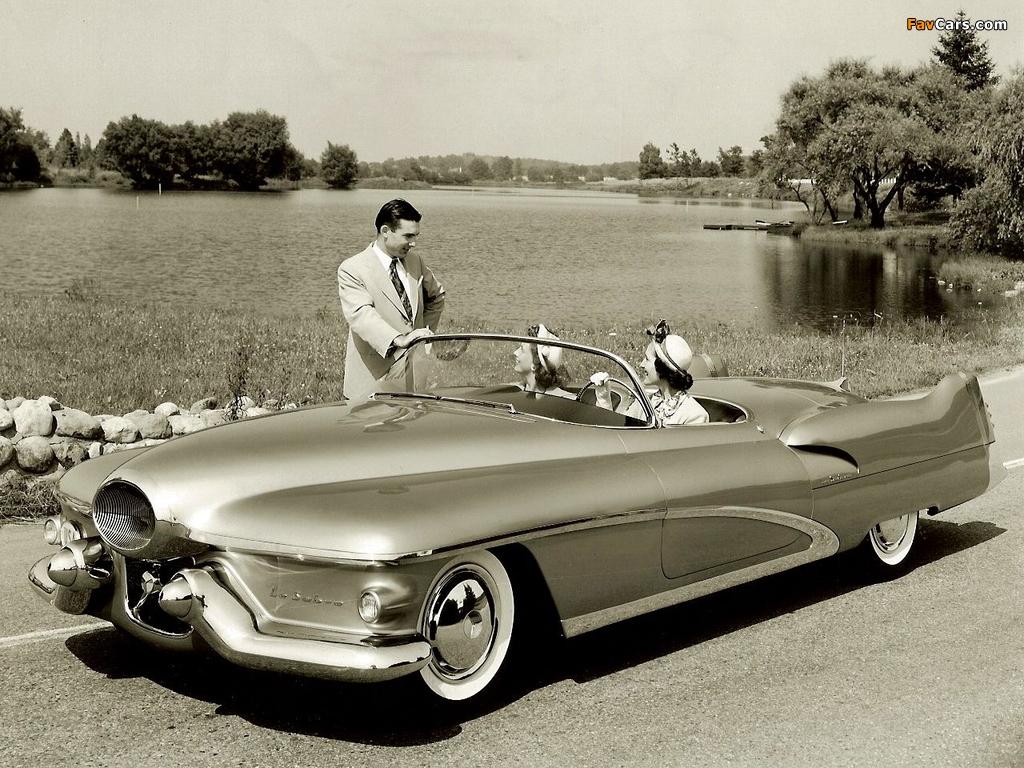 Images of GM LeSabre Concept Car 1951 (1024 x 768)