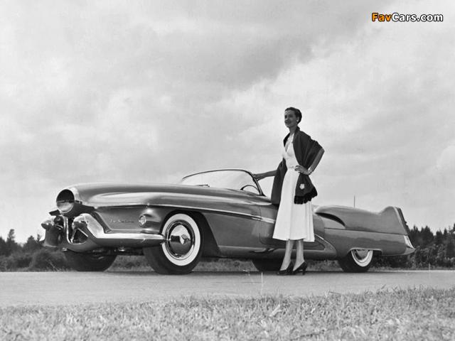 Pictures of GM LeSabre Concept Car 1951 (640 x 480)