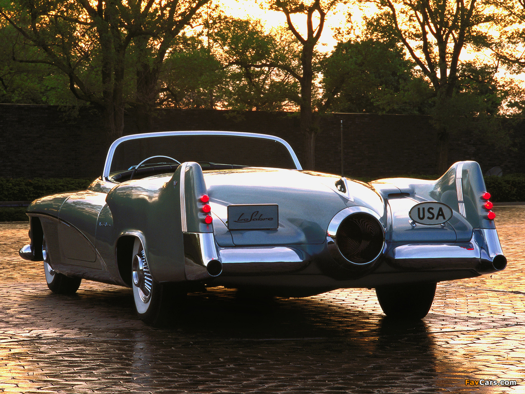 Pictures of GM LeSabre Concept Car 1951 (1024 x 768)