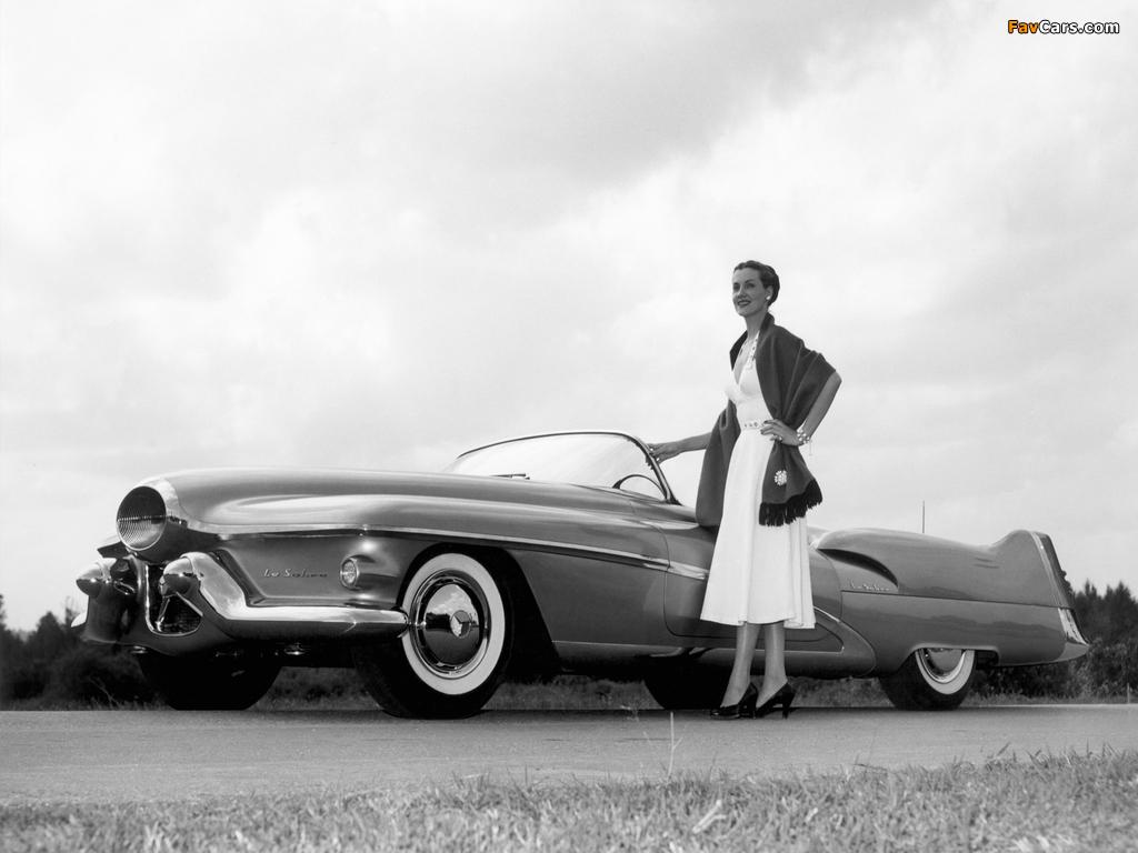 GM LeSabre Concept Car 1951 wallpapers (1024 x 768)