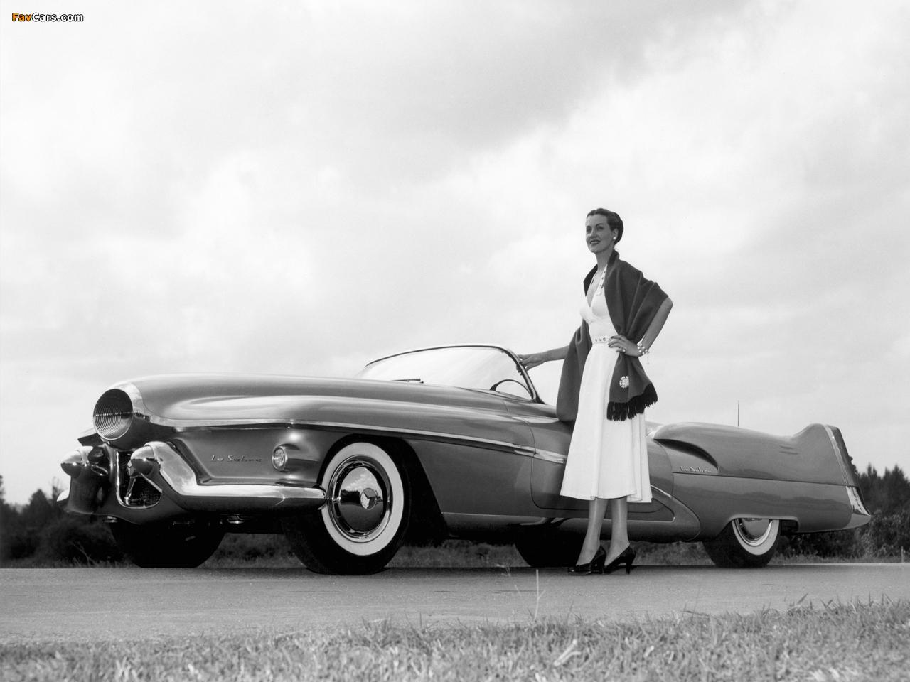 GM LeSabre Concept Car 1951 wallpapers (1280 x 960)