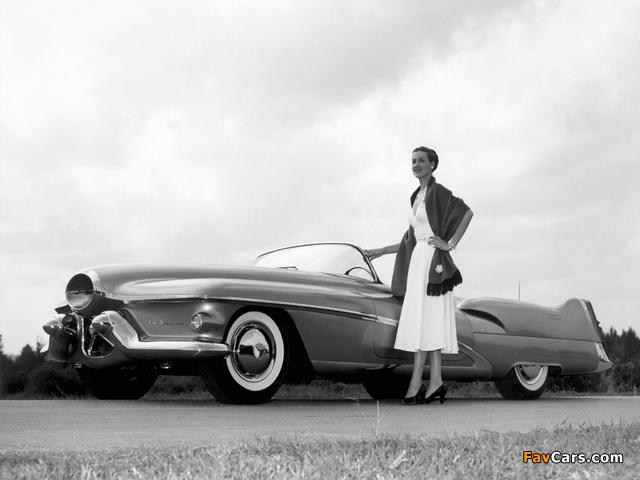 GM LeSabre Concept Car 1951 wallpapers (640 x 480)
