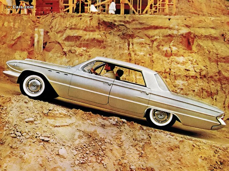 Buick LeSabre 4-door Hardtop (4439) 1961 wallpapers (800 x 600)