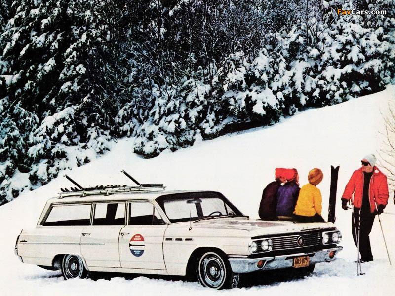 Buick LeSabre Estate Wagon 1963 wallpapers (800 x 600)
