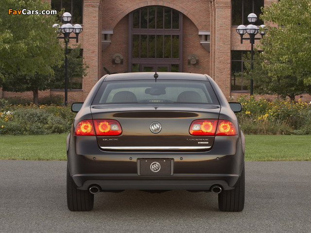 Buick Lucerne Super 2008–11 wallpapers (640 x 480)