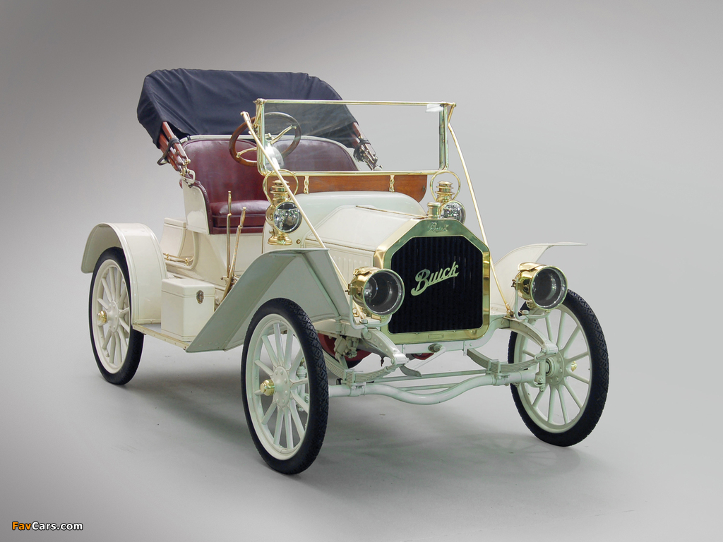 Buick Model 10 Touring Runabout 1908 wallpapers (1024 x 768)