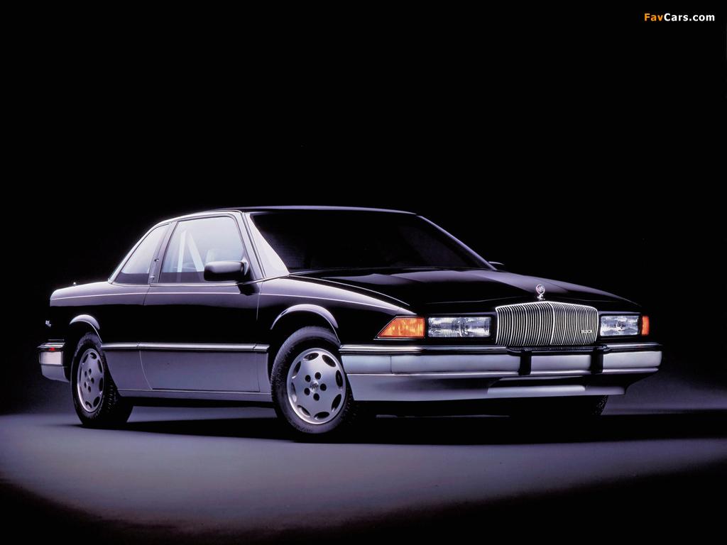 Buick Regal Coupe 1988–93 photos (1024 x 768)