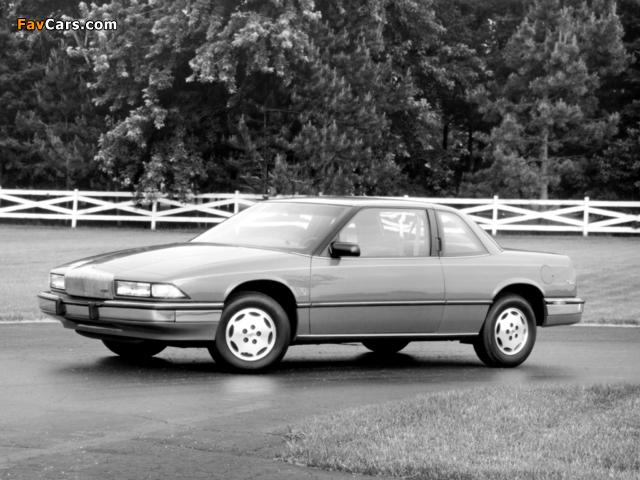 Buick Regal Coupe 1988–93 photos (640 x 480)