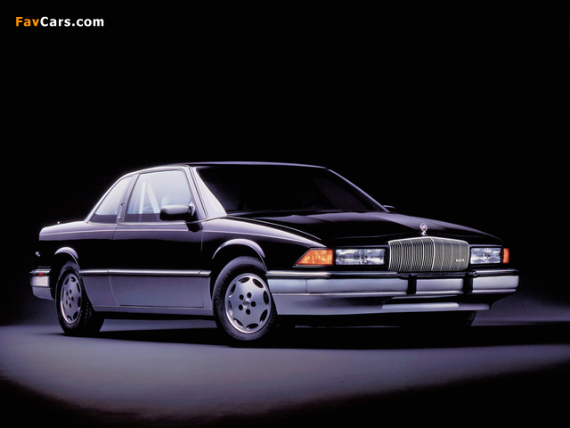 Buick Regal Coupe 1988–93 pictures (640 x 480)