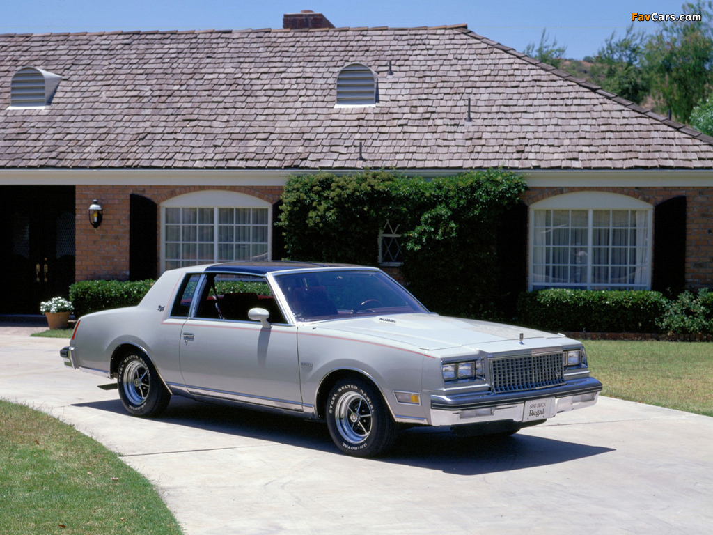 Photos of Buick Regal Sport Coupe 1980 (1024 x 768)
