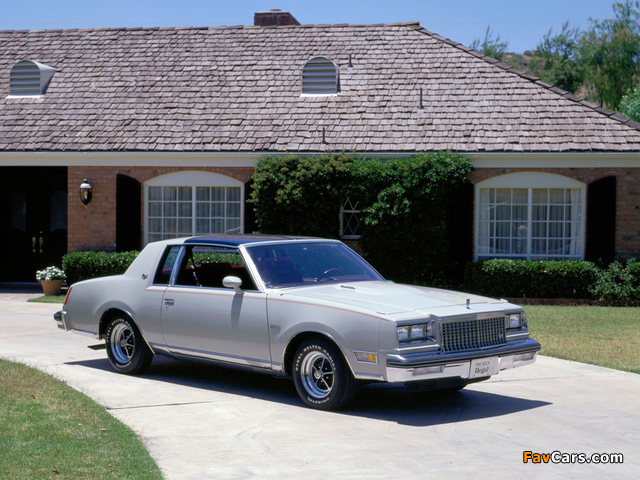 Photos of Buick Regal Sport Coupe 1980 (640 x 480)