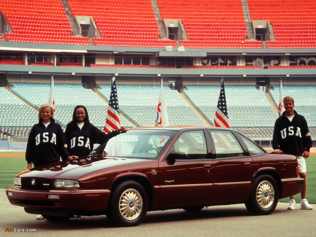 Pictures of Buick Regal Olympic Edition 1996 (1024 x 768)
