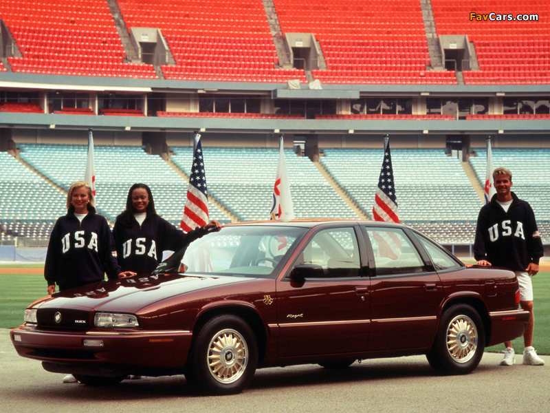 Pictures of Buick Regal Olympic Edition 1996 (800 x 600)