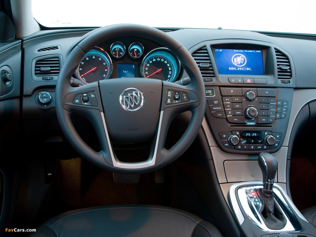 Pictures of Buick Regal CN-spec 2008–13 (1024 x 768)