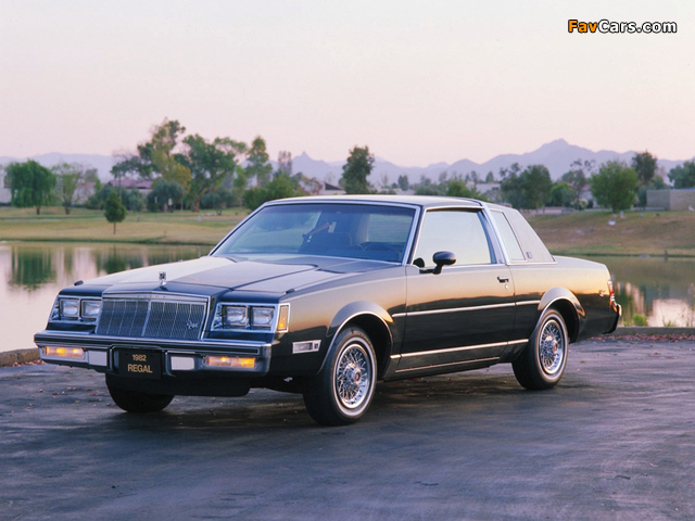 Buick Regal Limited Coupe 1982 wallpapers (640 x 480)