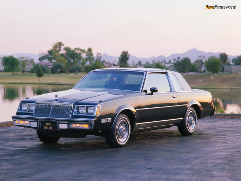 Buick Regal Limited Coupe 1982 wallpapers (800 x 600)