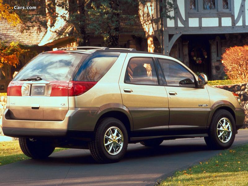 Buick Rendezvous 2001–03 photos (800 x 600)