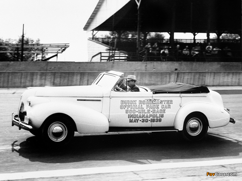 Buick Roadmaster Sport Phaeton Trunk Back Indy 500 Pace Car (81C) 1939 pictures (800 x 600)