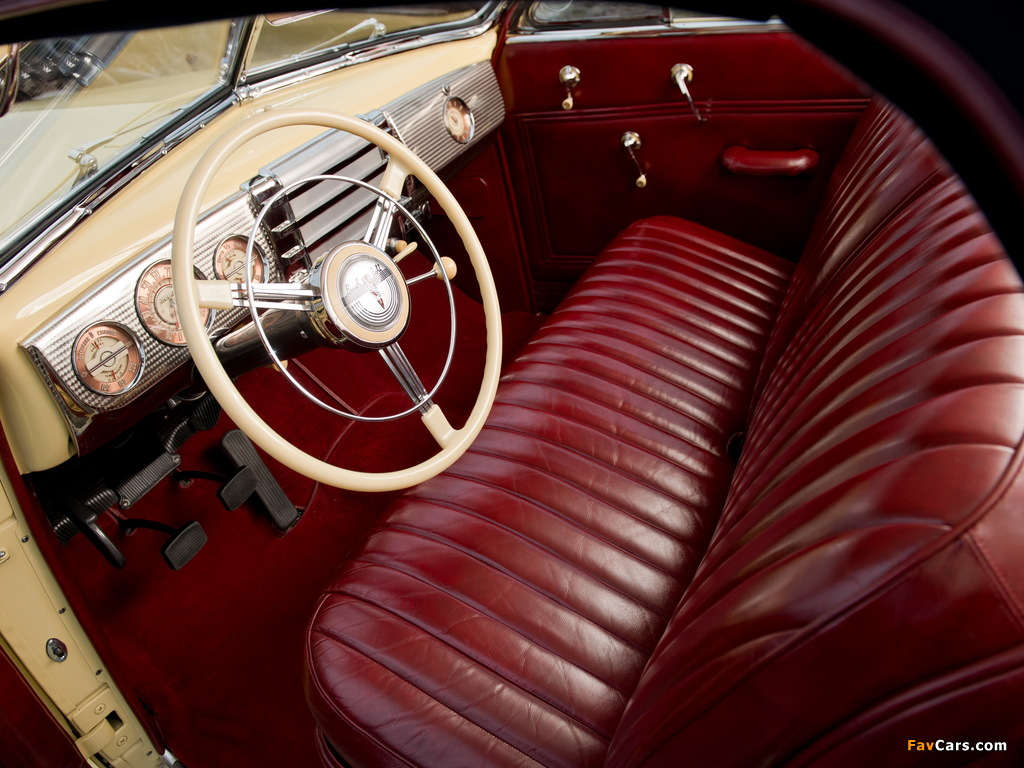 Buick Roadmaster Convertible 1941 photos (1024 x 768)