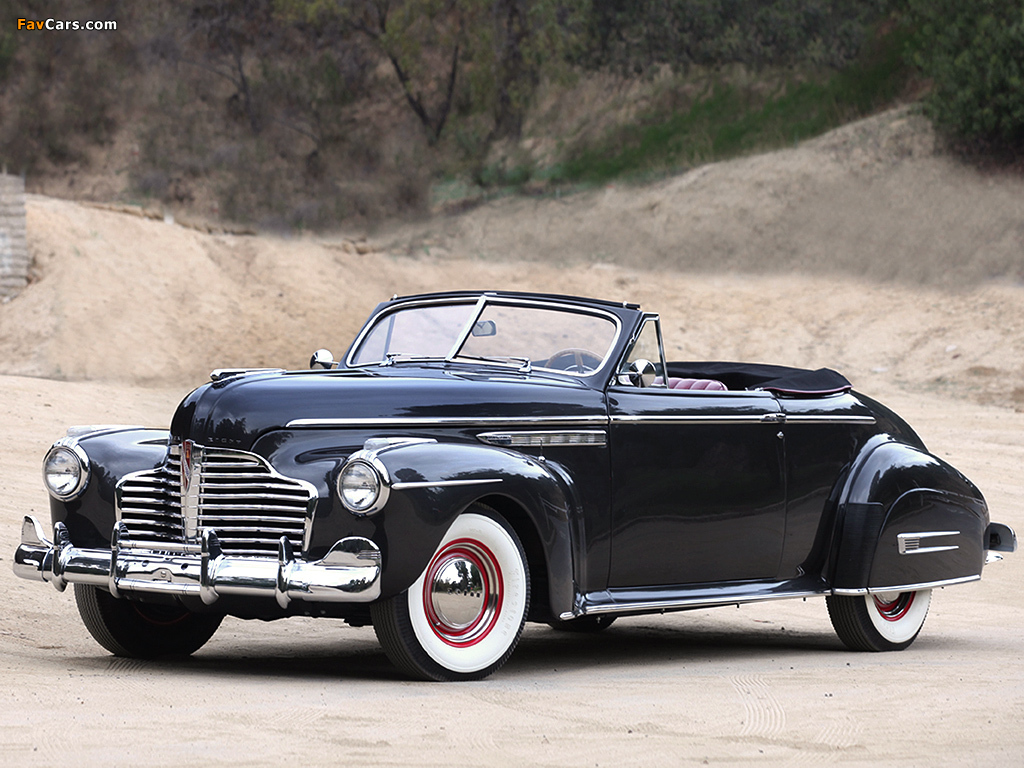 Buick Roadmaster Convertible 1941 Wallpapers 1024x768