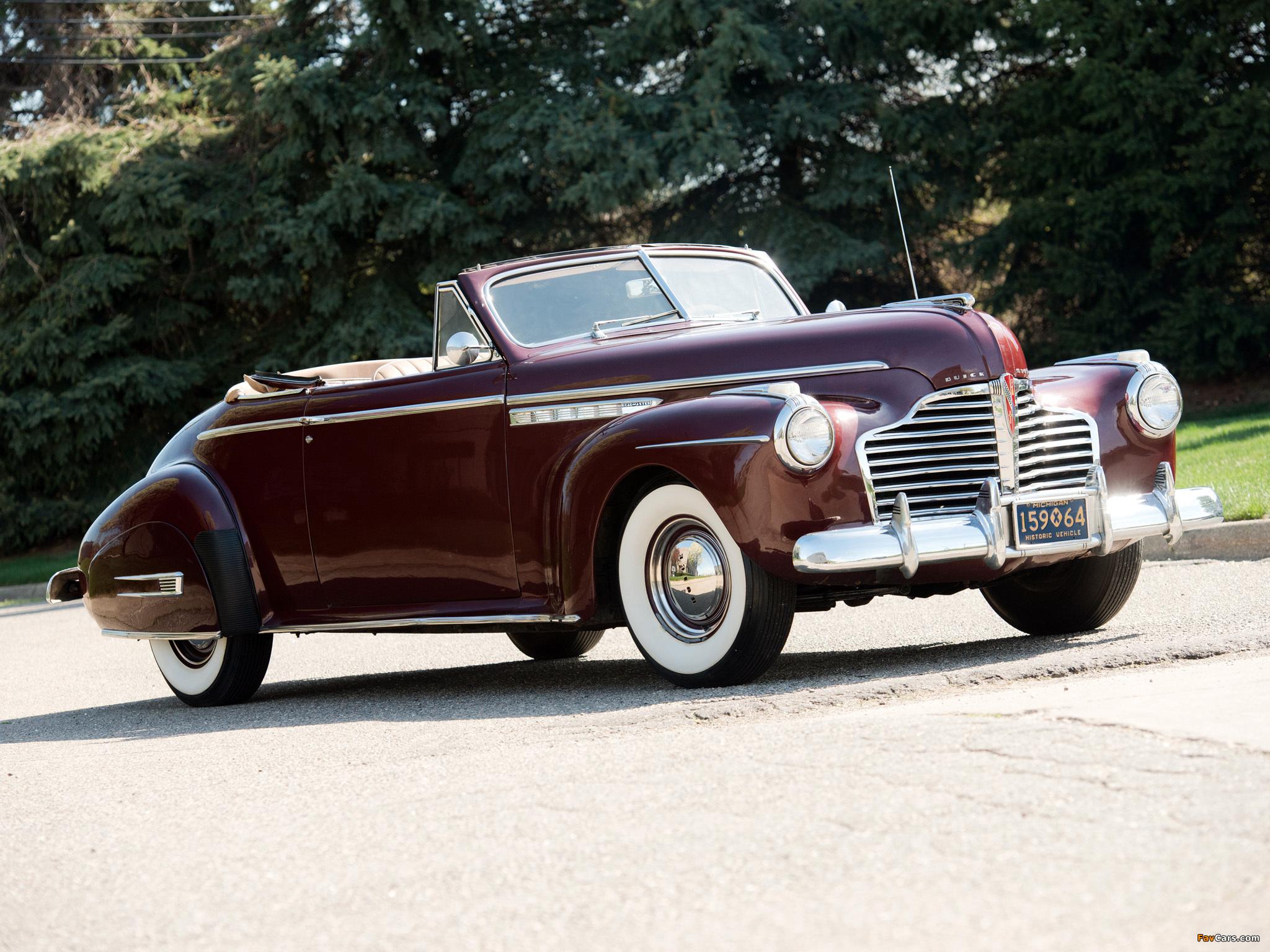 Buick Roadmaster Convertible 1941 wallpapers (2048 x 1536)