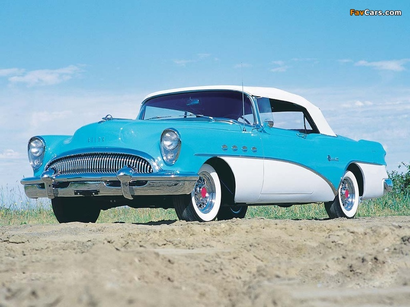 Images of Buick Roadmaster Convertible 1954 (800 x 600)
