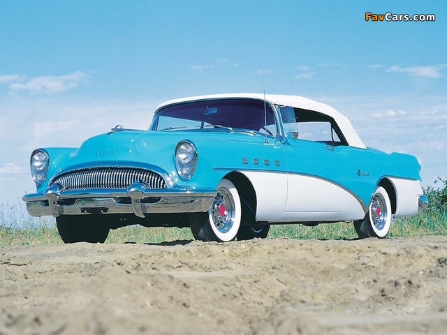Images of Buick Roadmaster Convertible 1954 (640 x 480)