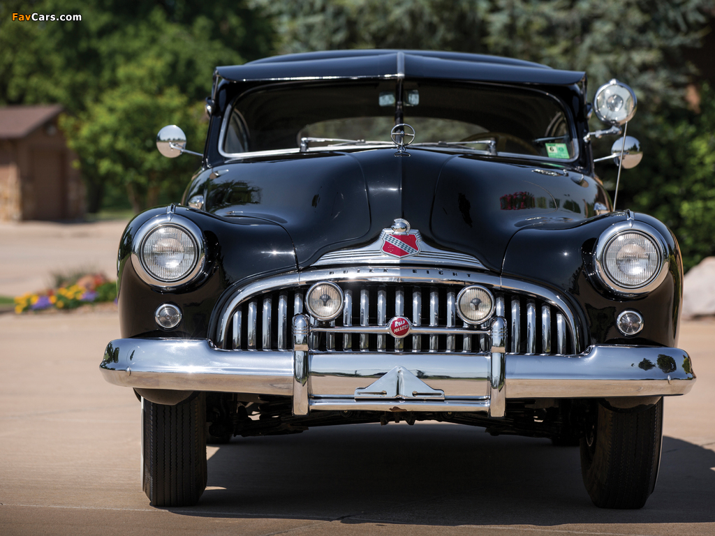 Photos of Buick Roadmaster Sedanet (76S-4707) 1946 (1024 x 768)