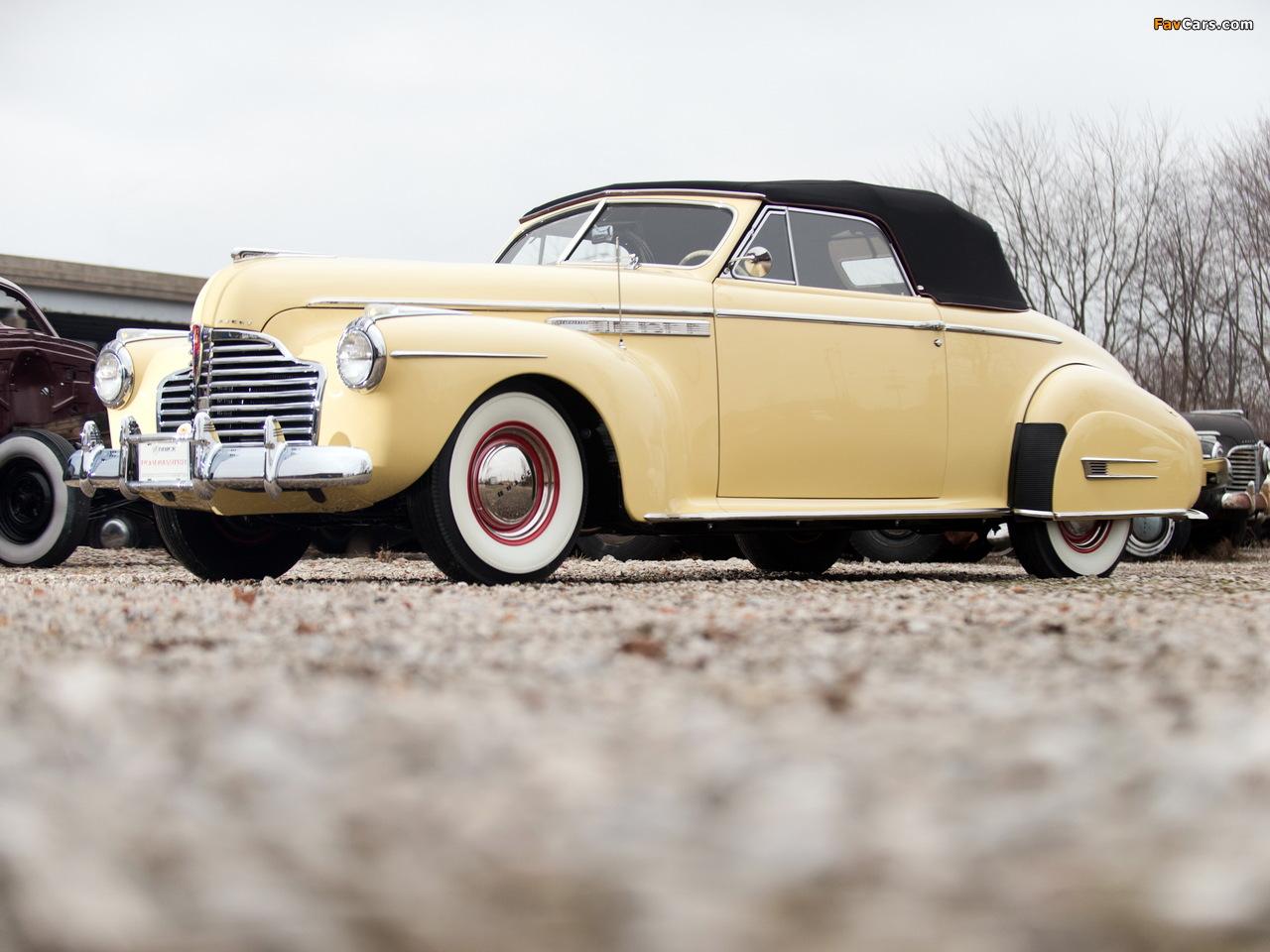 Buick Roadmaster Convertible 1941 wallpapers (1280 x 960)